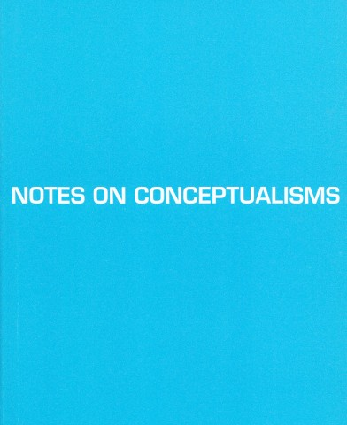 Notes on Conceptualisms