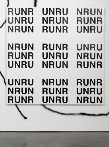 Untitled (ZIG-ZAG RUN), 2015